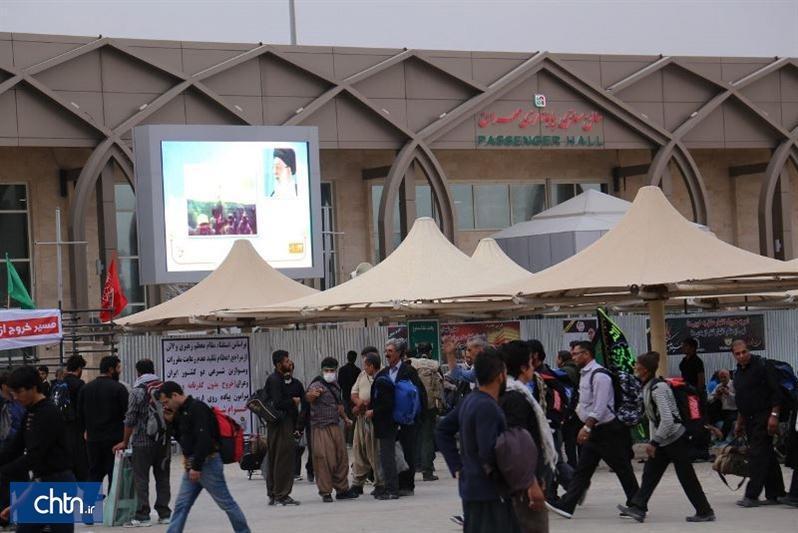 تردد 2، 6میلیون گردشگر ایرانی از مرز بین المللی مهران