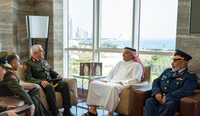 ملاقات وزیر دفاع قطر با رئیس ستاد ارتش اردن درباره همکاری نظامی